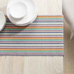 Devon Stripe Table Runner With Napkin Option