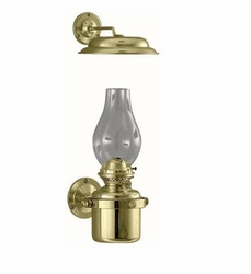 DHR Gimbal Oil Lamp with Smoke Bell