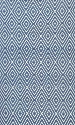 Diamond Denim White Indoor/Outdoor Rug