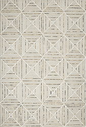 Diamond Stripe Hand Tufted Rug <font color=a8bb35> NEW</font>