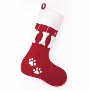 Dog Holiday Christmas Stocking<font color =a8bb35> Sold out</font>