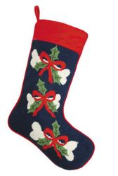 Doggie Bone Christmas Stocking<font color =a8bb35> Sold out</font>