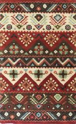 Dream Dark Red Hand Tufted Rug  <font color=a8bb35> NEW</font>