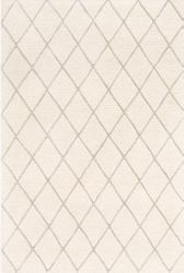 Eaton Cream Hand Tufted Rug <font color=a8bb35> NEW</font>
