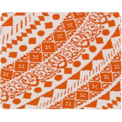 Ekena Orange Throw