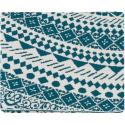 Ekena Teal Throw