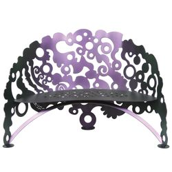 Electric Boogie Metal Garden Bench *NEW*