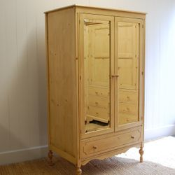 Eloise Mirrored Armoire