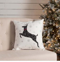 Emmie Reindeer Pillow
