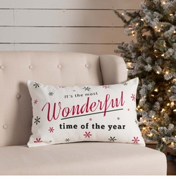 Emmie Wonderful Time of Year Pillow
