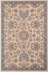 Fire Work Dark Brown Hand Tufted Rug <font color=a8bb35> NEW</font>