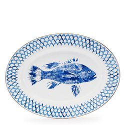 Fish Camp Oval Platter
