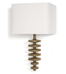 Fishbone Natural Sconce