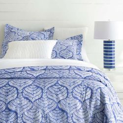 Flora Blue Duvet Cover  15% Off