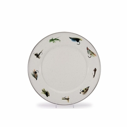 Fly Fishing Dinner Plates Set of Four