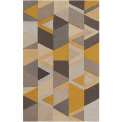 Forum Mustard Hand Tufted Rug <font color=a8bb35> NEW</font>