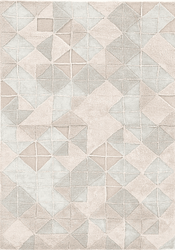 Genesis Light Grey Hand Tufted Rug  <font color=a8bb35> NEW</font>