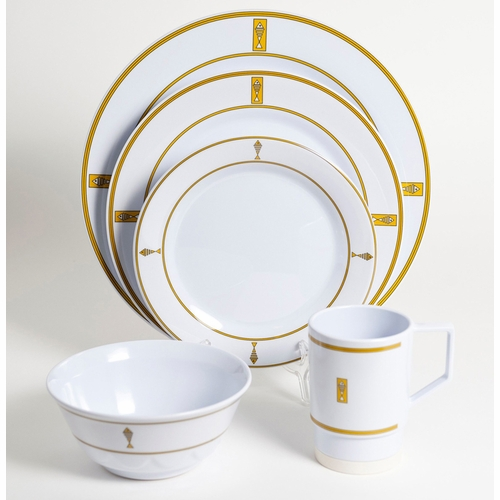 Gold Fish Melamine Dinnerware Collection with Platter