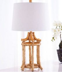 Golden Bamboo Table Lamp *Out of Stock