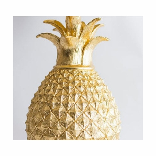 Golden Pineapple Table Lamp *Out of Stock