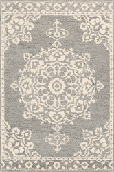 Granada Charcoal Hand Tufted Rug <font color=a8bb35> NEW</font>