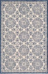 Granada Dark Blue Hand Tufted Rug <font color=a8bb35> NEW</font>