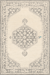 Granada Medium Gray Hand Tufted Rug <font color=a8bb35> NEW</font>