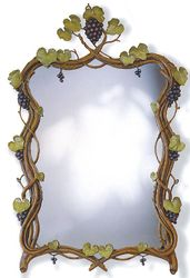 Grape Vines Mirror