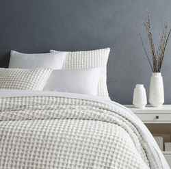 Gridwick Dove White Duvet Cover 15% Off