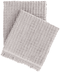 Gridwick Grey Throw <font color=a8bb35> NEW</font>