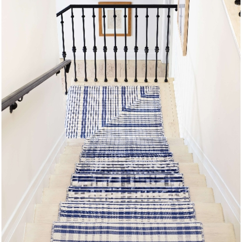 Guilford Cobalt Woven Cotton Rug *Sold out