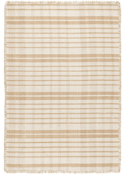 Guilford Wheat Woven Cotton Rug <font color=a8bb35>NEW</font>