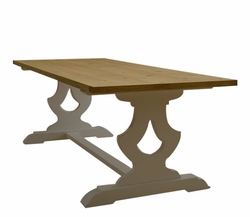 Gustavian Farm Dining Table in Two Sizes