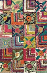 Gypsy Rose Cotton Hooked Rug 15% Off