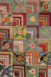 Gypsy Rose Wool Rug