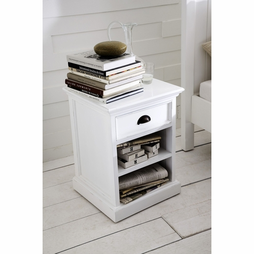 Halifax Bedside Table with shelf