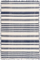 Hampshire Stripe Navy Woven Cotton Rug *Sold out