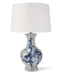 Hanna Ceramic Table Lamp <font color=a8bb35> NEW</font>