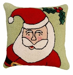 Happy Santa Christmas Pillow