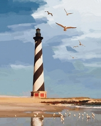 Miller Pope's Hatteras Lighthouse Giclee