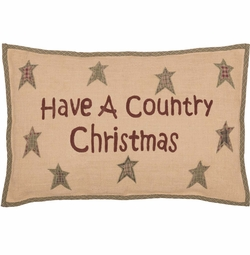 Have A Country Christmas Pillow