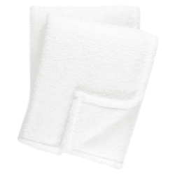 Heathered Fleece White Throw <font color=a8bb35> NEW</font>