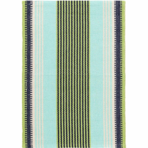Hollis Stripe Woven Cotton Rug *Sold out