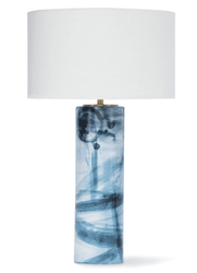 Hudson Ceramic Table Lamp <font color=a8bb35> NEW</font>