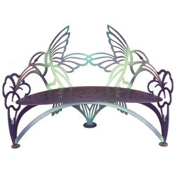 Hummingbird Metal Garden Bench *NEW*