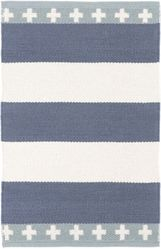 Inspired Stripe Cotton Woven Rug