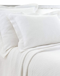 Interlaken Matelasse White Sham
