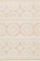 Izmir Ivory Hand Tufted Rug <font color=a8bb35> NEW</font>