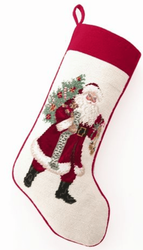 Jingle Clause Christmas Stocking<font color =a8bb35> Sold out</font>