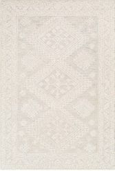 Kayseri Cream Hand Tufted Rug <font color=a8bb35> NEW</font>